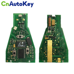 CN002040 ORIGINAL Smart Key (PCB) for Mercedes-Benz Buttons3 Frequency 433 MHz With NEC Processor Black Key