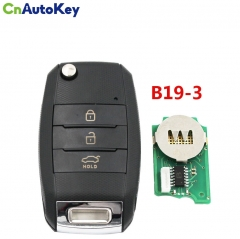 B19-3 For KD900 Remote Control B-Series FOR KD900+URG200,KD200 3 Button Key K Style