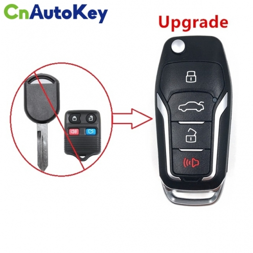 CN018085 Upgraded Car Remote Key for FORD 315MHZ 4D63 CHIP CWTWB1U331