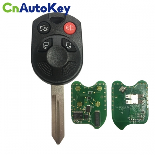 CN018087 2006-2010 Ford Fusion HA Blade Remote Head Key Fob Ford OUCD6000022 4D - 63 - 40 Bits