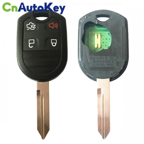 CN018088  Ford 4 Btn Keyless Entry Remote High Sec Combos -315mhz 4D63 80BIT X32-RHKFO