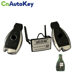 CN002048 ORIGINAL Smart Key Mercedes Benz 3Buttons  433MHz  Blade HU64  FBS4  Part No A 222 905 42 08  Keyless Go