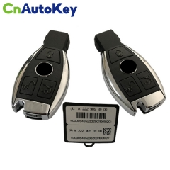 CN002049 ORIGINAL Smart Key For Mercedes Benz 3Buttons 433MHz Blade HU64 FBS4 Part No A 222 905 39 00