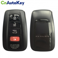 CN007136 Toyota Avalon 4 Button Smart Key 314.4MHZ HYQ14FBE  8990H-07020 (0410)
