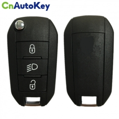 CN009041 Genuine 3 Button Remote Key Fob For Peugeot 3008,Expert 2017-2019 HUF8435 HITAG AES CHIP