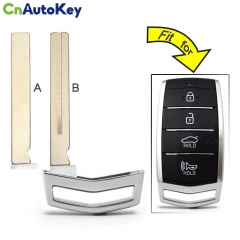 CS020025  for Hyundai Genesis G80 2017 2018 Replacement Smart Prox Emergency Car Key Remote Insert Blade