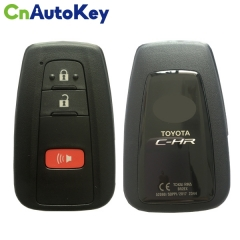 CN007138 For Toyota C-HR Genuine Smart Key Remote 2018 2+1 Buttons 433mhz 61E470-0010 BR2EX
