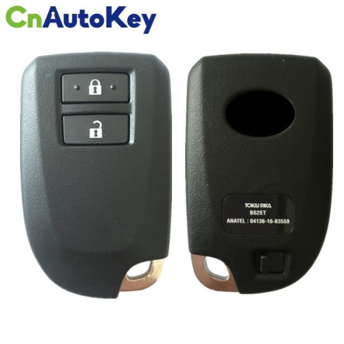 CN007141 ORIGINAL Smart Key for Toyota 2Buttons 315MHz Texas 128-bit AES Model BS2ET Keyless GO