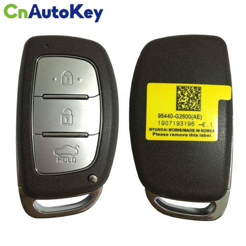 CN020133 For Hyundai Ioniq Smart Key Remote 3 Buttons 433MHz 95440-G2600