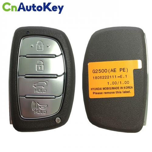 CN020140 For Hyundai Ioniq Genuine Smart Remote Key 4 Buttons 433MHz 95440-G2500