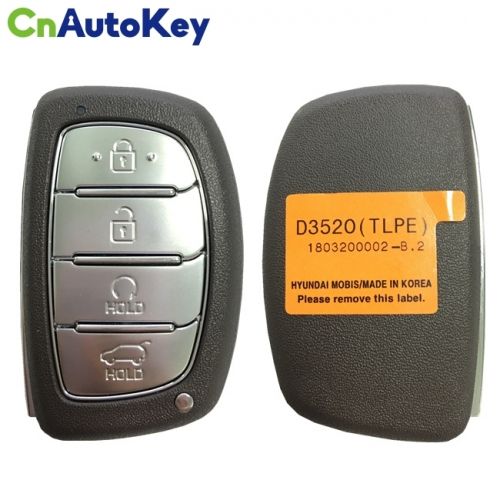 CN020136 2019 - 2020 For HYUNDAI TUCSON SMART KEY - 4B - 433MHZ - 95440-D3520
