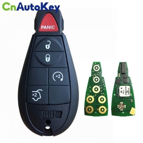 CN015095 Aftermarket 2009-2013 Jeep Grand Cherokee  5-Button Keyless Go Fobik  PN 05026453AI  IYZ-C01C