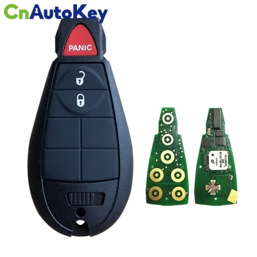 CN015091 Aftermarket 2009-2013 Jeep Grand Cherokee  3-Button Keyless Go Fobik  PN 56046733AH  IYZ-C01C