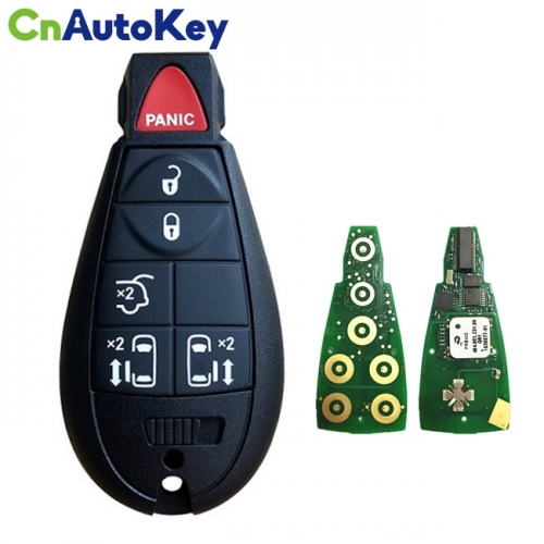 CN015099 Aftermarket 2011-2016 Chrysler Town & Country  6-Button Keyless Go Fobik  PN 68070394AJ  IYZ-C01C