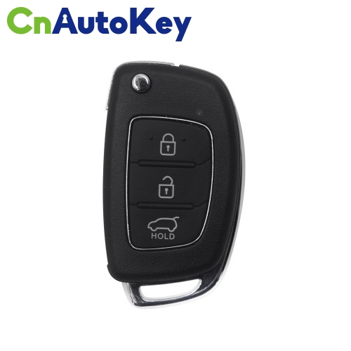 NHY04EN Wireless Remote Key Hyundai Flip 3 Buttons English 10pcs/lot