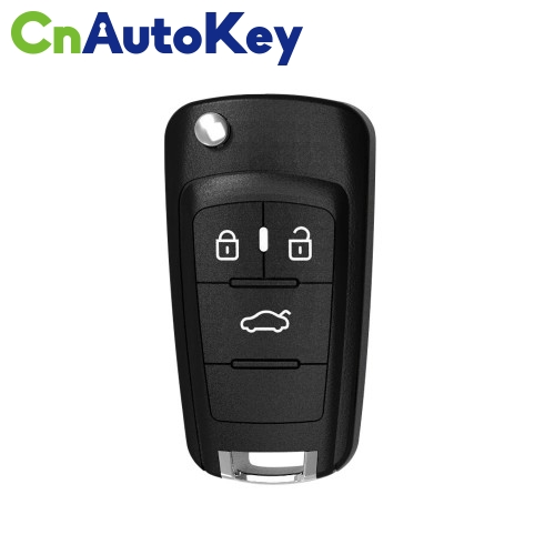 XKBU00EN Wire Remote Key Buick Flip 3 Buttons English 10pcs/lot