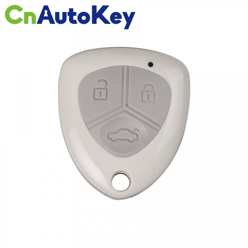 XNFE01EN Wireless Remote Key Ferrari Flip 3 Buttons with Keyblank White English 10pcs/lot