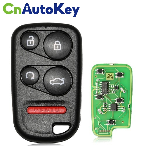 XKHO03EN Wire Remote Key Honda Separate 4 buttons with Remote Start & Trunk Button English 10pcs/lot