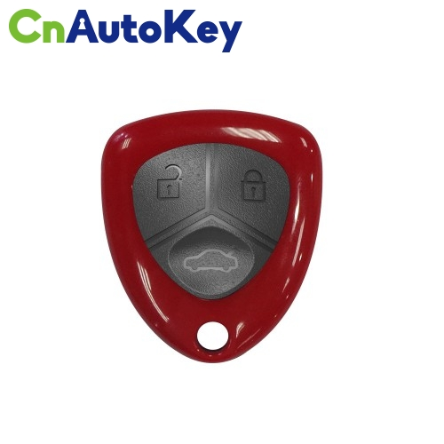 XKFE00EN Wire Remote Key Ferrari Flip 3 buttons with Keyblank Red English 10pcs/lot
