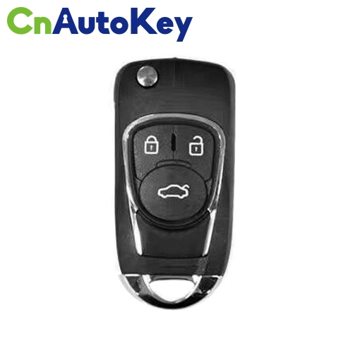 XNBU03EN Wireless Remote Key Buick Flip 3 Buttons English 10pcs/lot