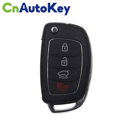 XNHY03EN Wireless Remote Key Hyundai Flip 4 Buttons English 10pcs/lot