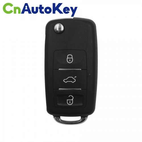 XNB510EN Wireless Remote Key VW B5 3 Buttons Folding English 10pcs/lot