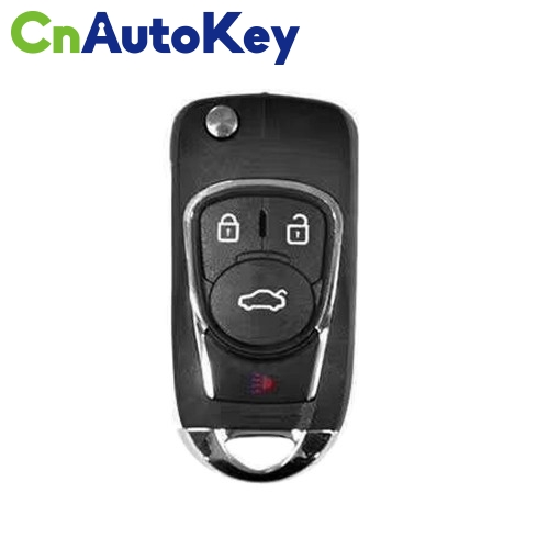 XNBU02EN Wireless Remote Key Buick Flip 4 Buttons English 10pcs/lot