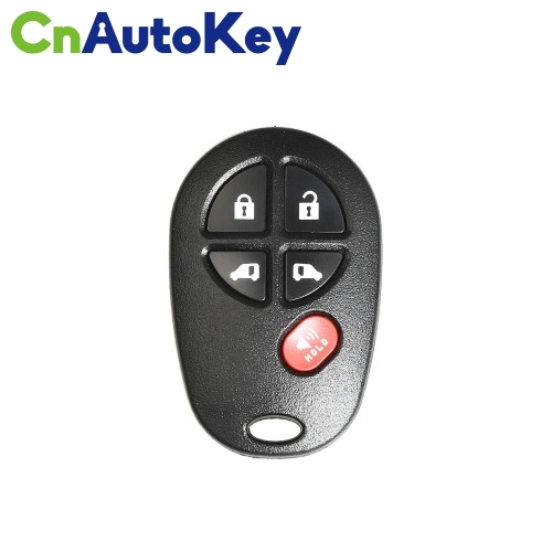XKTO08EN Wire Remote Key Toyota Separate 5 Buttons English 10pcs/lot