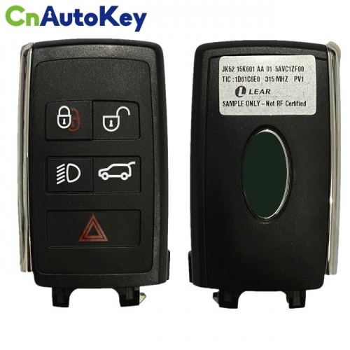 CN004035 New Smart Remote Key Fob 315MHz 5 Button for LAND ROVER PEPS(SUV) JK52-15K601-AA 01