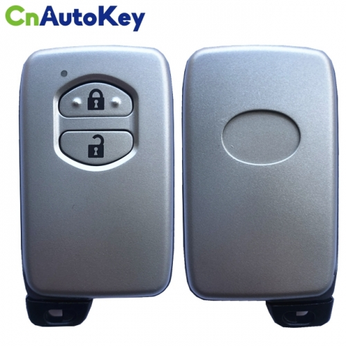 CS007079 3 Buttons Remote Smart Key Case Shell For Toyota Land Cruiser Prado 2010-2015 Without Insert Key Blade