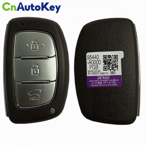 CN020152 For Hyundai Creta Smart Key Remote 2016 3 Button 433MHz 95440-A0000PGB