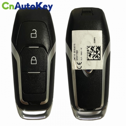CN018100 ORIGINAL Smart Key for Ford Buttons 2 434MHz HITAG-Pro  Blade  Part No FL3T-15K601-FC  Keyless Go