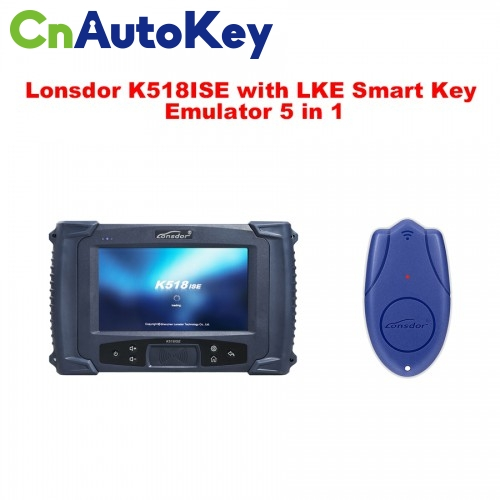 CNP103 Lonsdor K518ISE Programmer Plus Lonsdor LKE Smart Key Emulator 5 in 1 Full Package