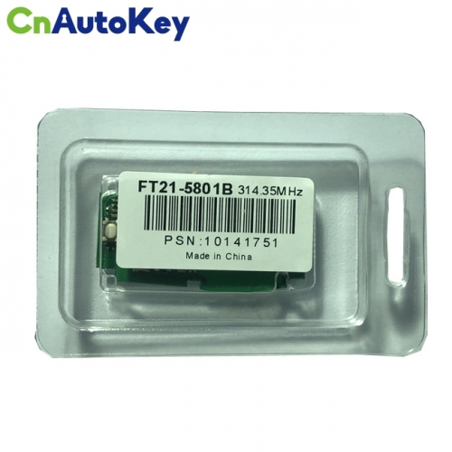 Lonsdor FT21-5801B 314.35 MHz FSK Subaru smart key F1 chip