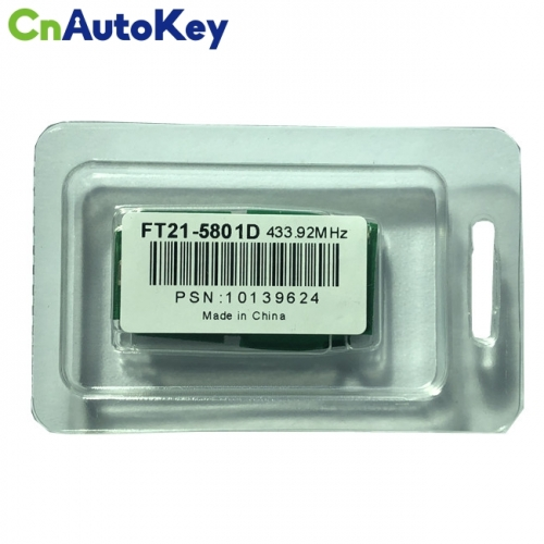 Lonsdor FT21-5801D 433.92 MHz FSK Subaru smart key F1 chip