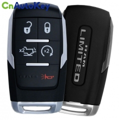 CN087029 2019-2020 Dodge Ram Limited 2500  5-Button Smart Key  PN 68375457AB  GQ4-76T (OEM)
