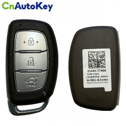 CN020172 Hyundai  2021 Smart Key Remote 4 Buttons 433 MHz 95440-T7000