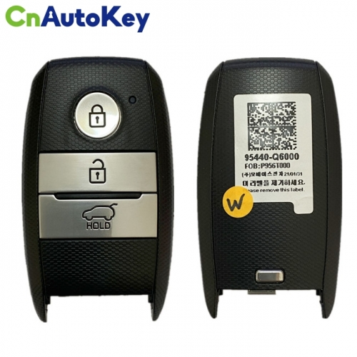 CN051128 Genuine KIA Seltos 2020 Smart Remote Key 3 buttons 433MHz FCC ID SYE3FOB1908 95440-Q6000