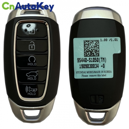 CN020168 Genuine Hyundai Santa Fe 2019+ Smart Key, 5Buttons, 433MHz 95440-S1050 Keyless Go