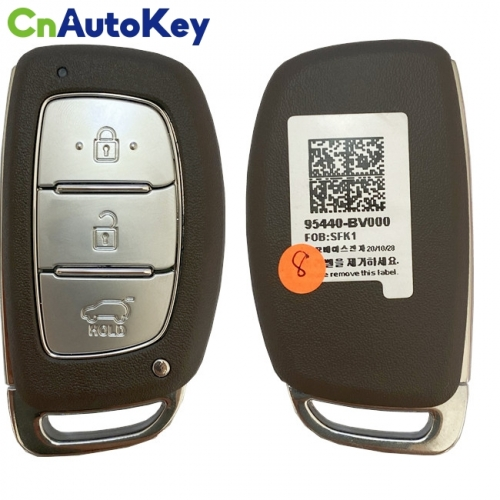 CN020173 Genuine Hyundai Creta 2021 Smart Key Remote 3 Buttons 433 MHz Fcc IdSYEC3FOB2003 95440-BV000