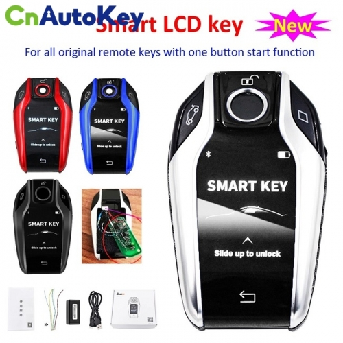 Modified Boutique Smart Remote Car Key with LCD Screen for BMW Mercedes-Benz Lexus Toyota Honda Land Rover Cadillac Buick