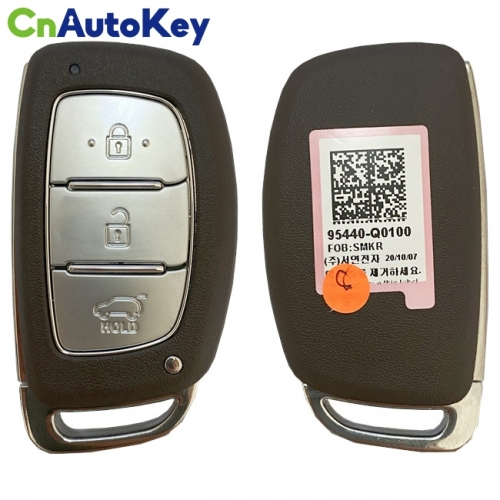 CN020171 OEM Smart Key for Hyundai I 20 2020+ 433MHz Part No 95440-Q0100 Keyless Go
