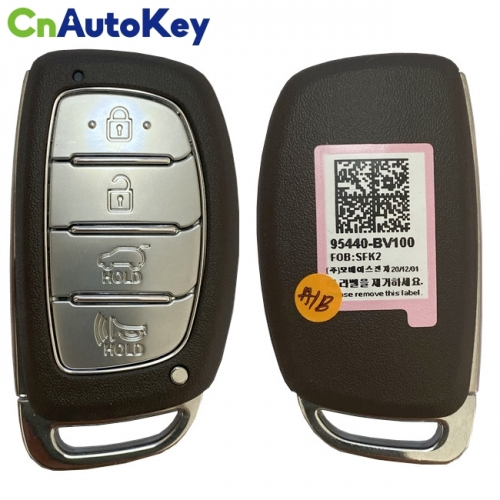 CN020170 Hyundai Creta 2021 Genuine Smart Remote Key 4 Buttons 433MHz 95440-BV100