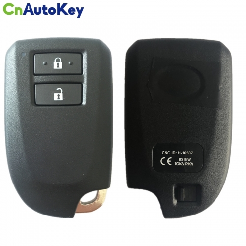 CN007214  For Toyota YARIS L YARIS VIOS Smart Keyless Remote Key 434MHZ FCCID BS1EW 0010 Board 8A Chip