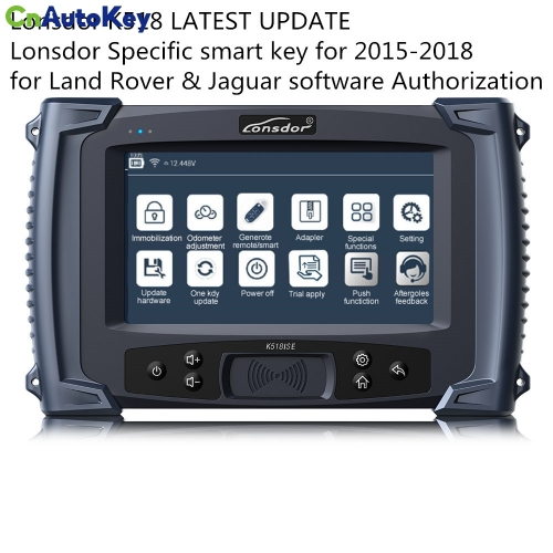 Lonsdor K518 LATEST UPDATE Lonsdor Specific smart key for 2015-2018 for Land Rover& Jaguar Authorization